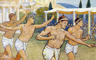 Программа олимпийских игр в древней греции