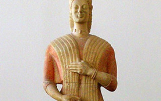 Античные статуи фото