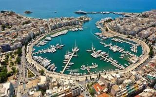 Порт пирей греция