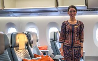 Униформа сингапурских стюардесс