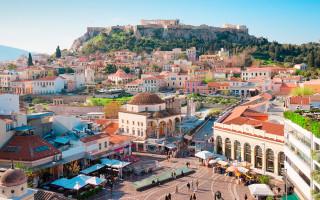 Афины центр города
