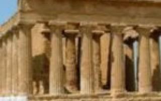Строение древнегреческого храма